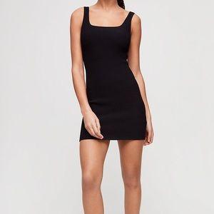 Aritzia Babaton Mattia Dress in Black Size XS